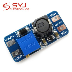 5pcs/lot MT3608 DC-DC Step Up Converter Booster Power Supply Module Boost Step-up Board MAX output 28V 2A In Stock