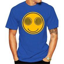 Новинка 2020 забавная гипнотическая футболка с улыбающимся лицом