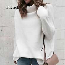 Long sleeve autumn winter sweater women white knitted sweaters