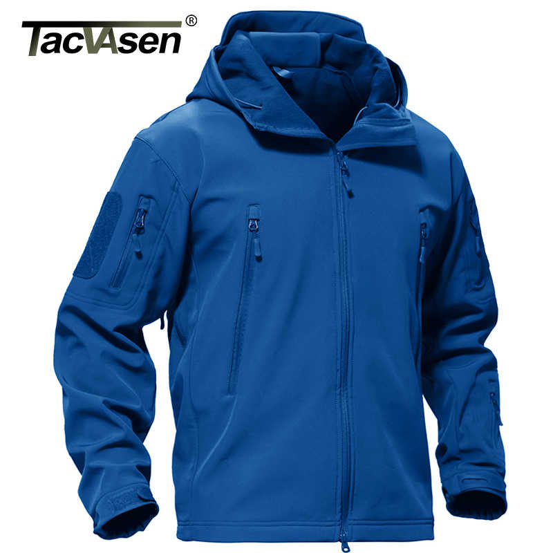 Tacvasen Winter Jacket Men Army Jas Militaire Tactische Fleece Jas Waterdicht Softshell Jassen Navy Windjack Hunt Kleding