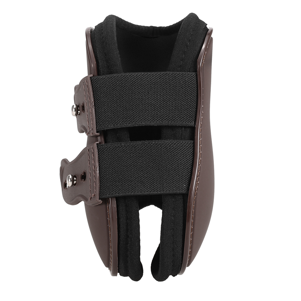 4 PCS Front Hind Leg Boots Horse Leg Boots Equine Front Hind Leg Guard Equestrian Tendon Protection Horse Hock Brace Equipment 2