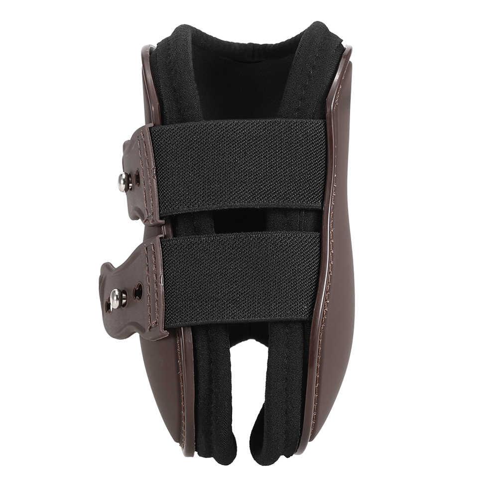 4 adet ön Hind bacak botları at bacak botları at ön Hind bacak koruması binicilik Tendon koruma at Hock Brace ekipmanları