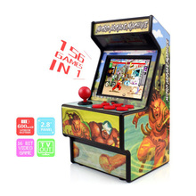 Handheld Game Console Retro Mini Arcade 16 Bit Game Player Built-in 156 Classic Video Game Console For Kids Chidren's Gift Toys