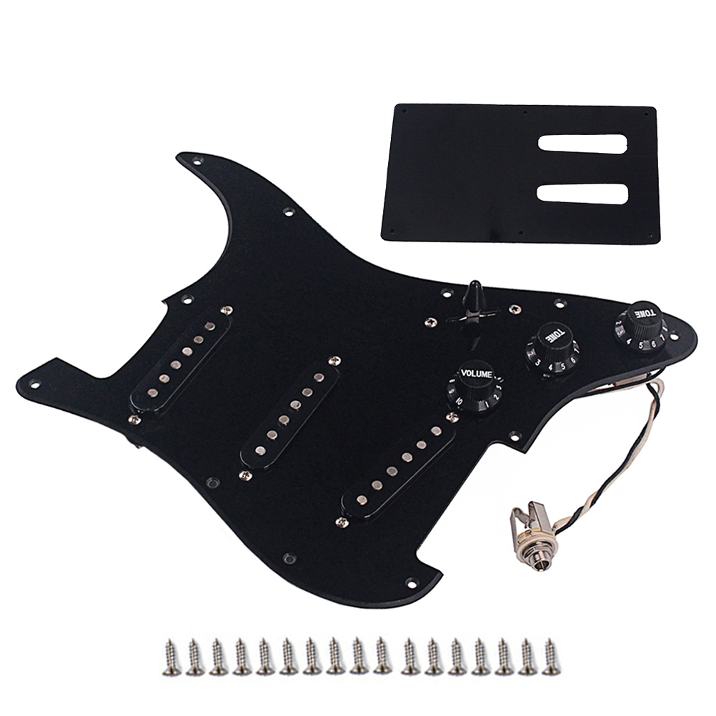 1 Set Pickguard GP119 Durable chargé Prime pick-up Humbucker Pickguard pour Instrument de musique guitare basse