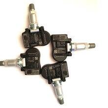 4Pcs 52933 D9100 52933D9100 433Mhz Tpms Bandenspanning Sensor Voor Kia Niro Sportage 17 19 Sorento 18 19 G90 17 18 Hyundai 2018