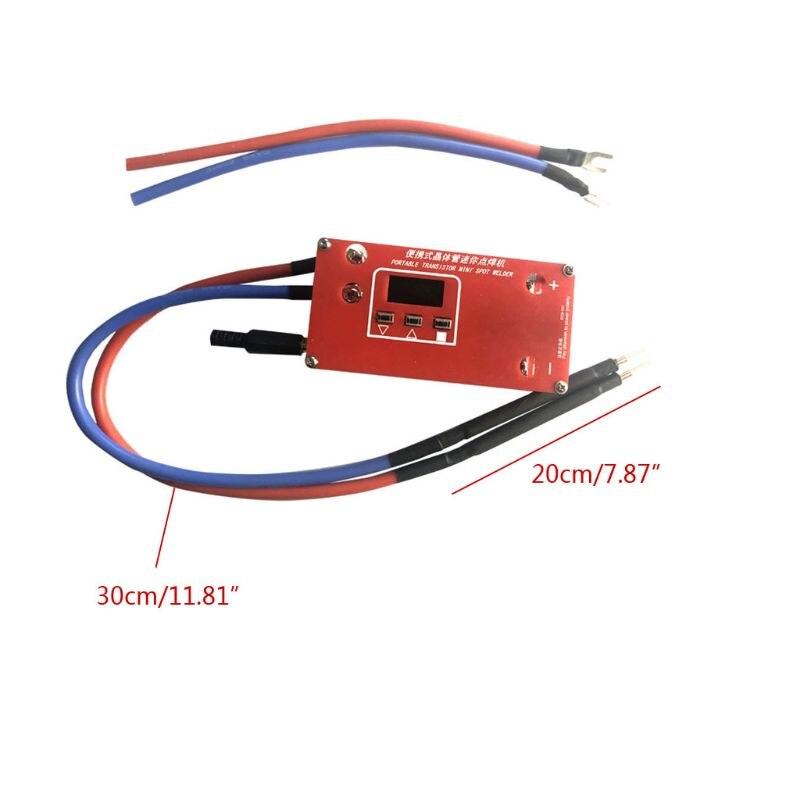 Welder Spot Capcitor Supplies Machine 18650 For Mini Super DIY Power Portable Welding Various Battery