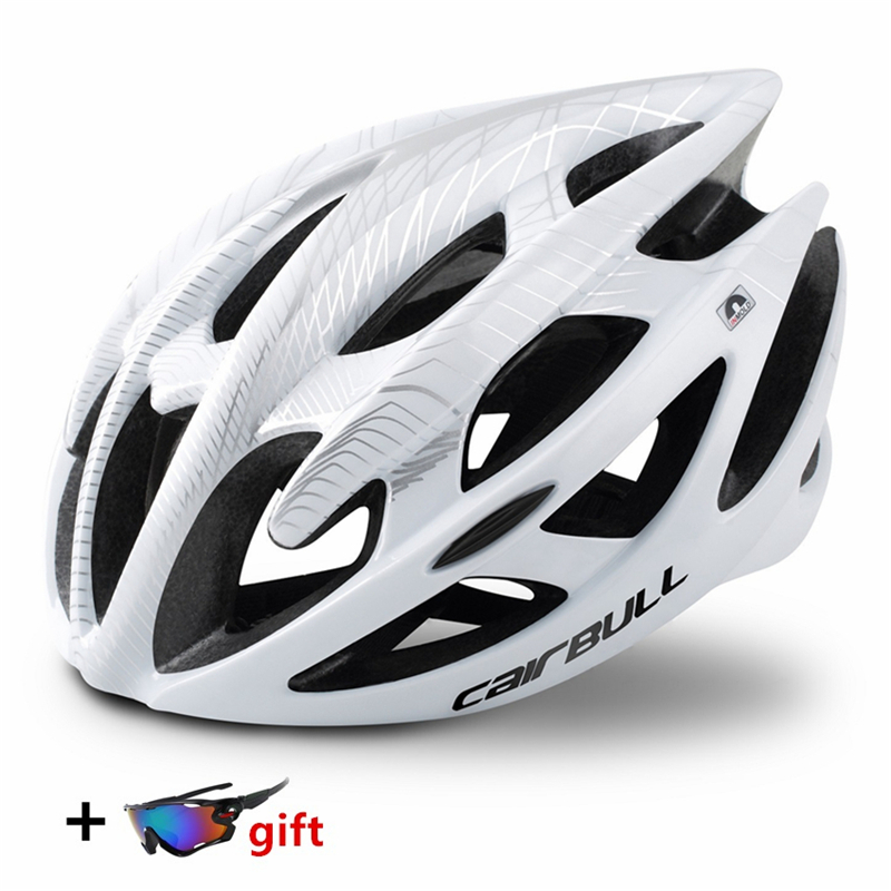 HOT Bicycle Cycling Helmet Superlight 21 Vents Ultra-light Breathable MTB Road Bicycle Safety Helmet casco ciclismo L/M