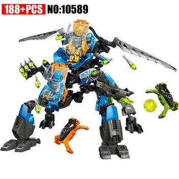 6,0 estrella soldado 10589 Hero Factory figura de acción Surge & Rocka máquina de combate bloques de construcción de plástico juguetes para niños