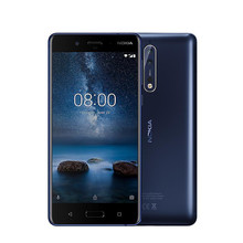 "Global Version Nokia 8 Android LTE Mobile phone 5.3"" IPS QHD Snapdragon 835 Octa core 4GB RAM 13MP Camera 3090mAh Smartphone"