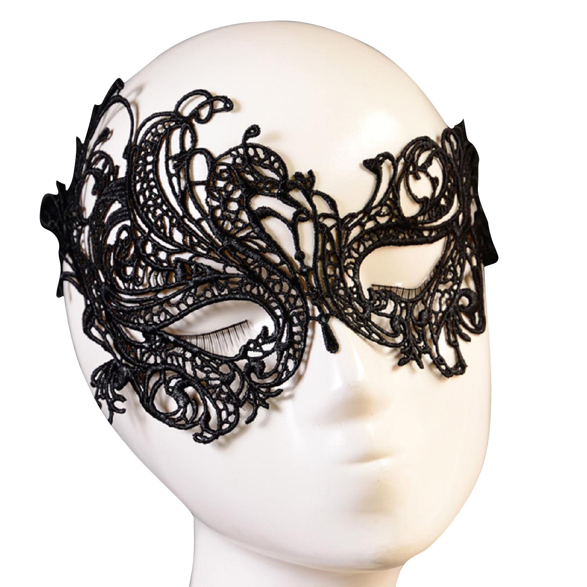 Fashion Sexy Lace Eye Mask Masquerade Halloween Party Fancy Costume