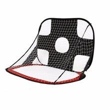 Складная футбольная сетка для ворот сверхпрочный Портативный футбольный мяч тренировочные ворота для детей студентов футбольная тренировка