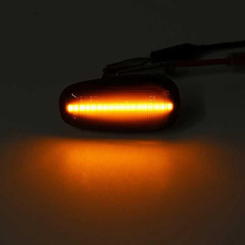 2 pièces voiture côté marqueur LED clignotant indicateur lampe pour Opel Zafira a 99-05 Astra G 98-09