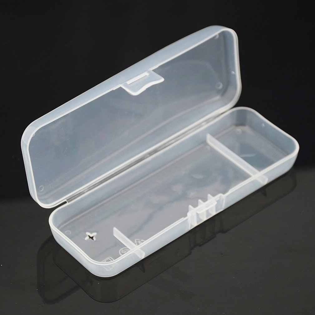 Portable Travel ABS Cover Manual Razor Protective Transparent Box Holder Cover Men Shaving Case For Travel