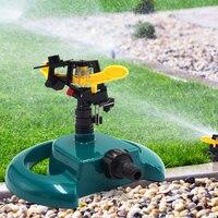 Durable Garden Irrigation Sprinkler 360 Adjustable Rotating Lawn Watering Sprinkler Home Garden Planting Elements