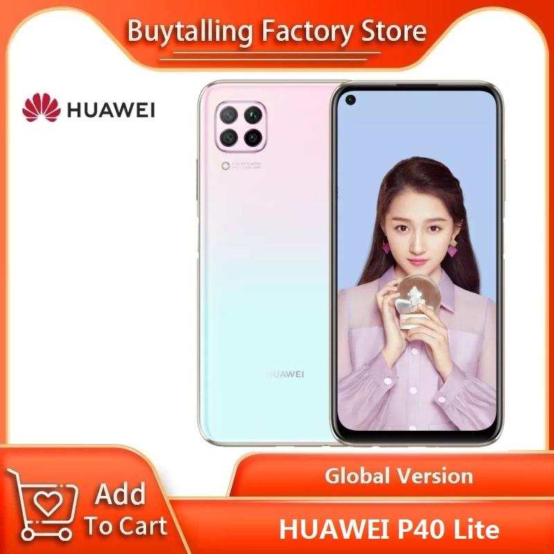 100% Originele Global Versie Huawei P40 Lite 6.4 Inch 6Gb 128Gb Kirin 810 Octa Core 64MP Quad Ai camera