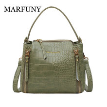 Womens Bag Crocodile Print Women Leather Handbags Lady Hand Bags Messenger Shoulder Small Purse Sac A Main Bolsa