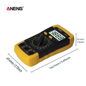 Image 3 - ANENG A830L Profesional Current Tester 부저 기능이있는 발광 디스플레이 디지털 AC/DC 전압 다이오드 주파수 멀티 테스터