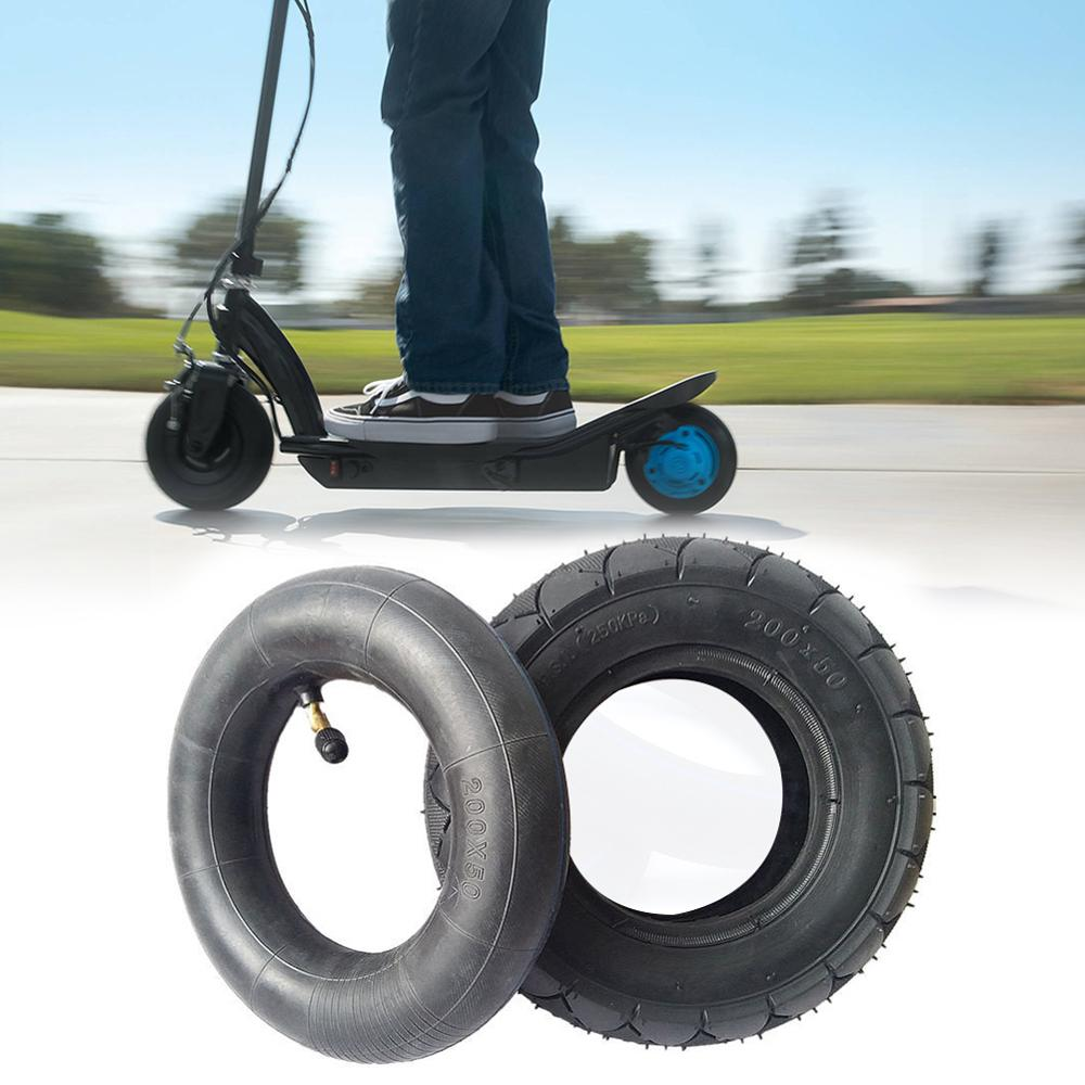 High Quntity 200x50 8 Inch Rubber Tire & Inner Tube For Electic Scooters Thickened