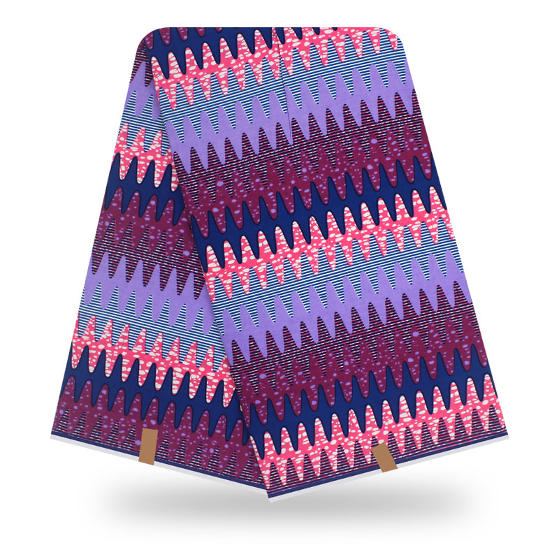 6Yard Ankara Cotton African Real Wax Print Fabric Printed Holland Fabric For Dress Diy Sewing Materials