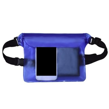 Outdoor Swimming bag Beach Use Universal Seal Type Men Women Waterproof Waist Bag PVC Pouch Belt Bag for iphone Mobile Phone new