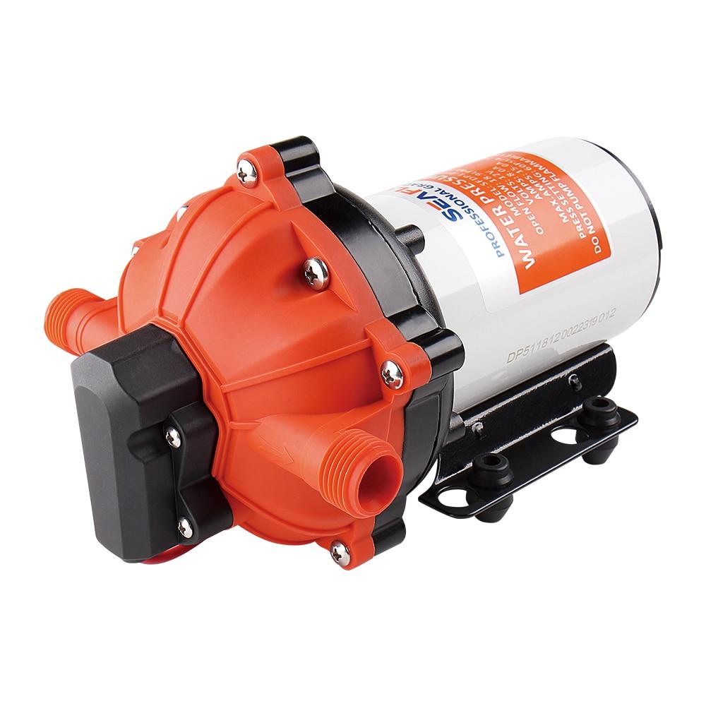 SEAFLO 12V 3.0GPM 60PSI Diaphragm Pumps Water Booster Pump Marine Boats RV