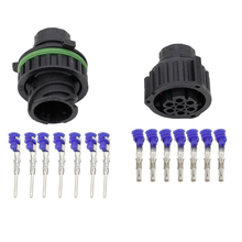 5 sets7 pin is equipped with a waterproof jacket hole connectors car connector terminals DJ3073Y-1.5-21
