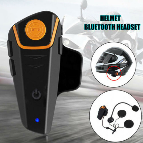 fones de ouvido 50m para motocicleta fones de ouvido fones auriculares para capacete bluetooth v4