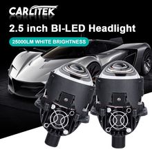 Carlitek BI LED PROJEKTOR OBJEKTIV 2 5 #8222 EINFACH INSTALL AUSGEZEICHNETE STRAHL H7 H1 H11 H4 H8 H9 9012 HIR2 9005 9006 25000LM Led-lampen SA cheap NONE CN (Herkunft) 6000k Headlight Assembly 2 5inch High Beam and Low Beam 2 year warranty 6000K bright white Universal Fog Light