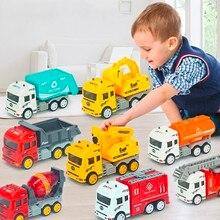 Инерционная мини-пожарная Инженерная машинка, игрушки, подарки для детей дошкольного возраста и малышей, игрушка для мальчиков, Пляжная дом...