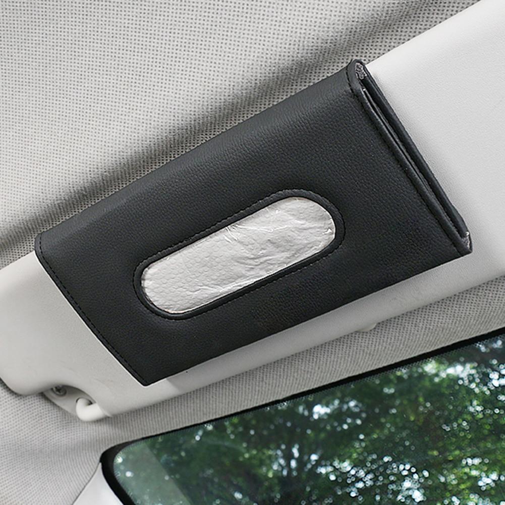 Автомобильный солнцезащитный козырек, кожаная салфетка, бумажная салфетка, сиденья, задний держатель, уличные автомобильные детали, украше...