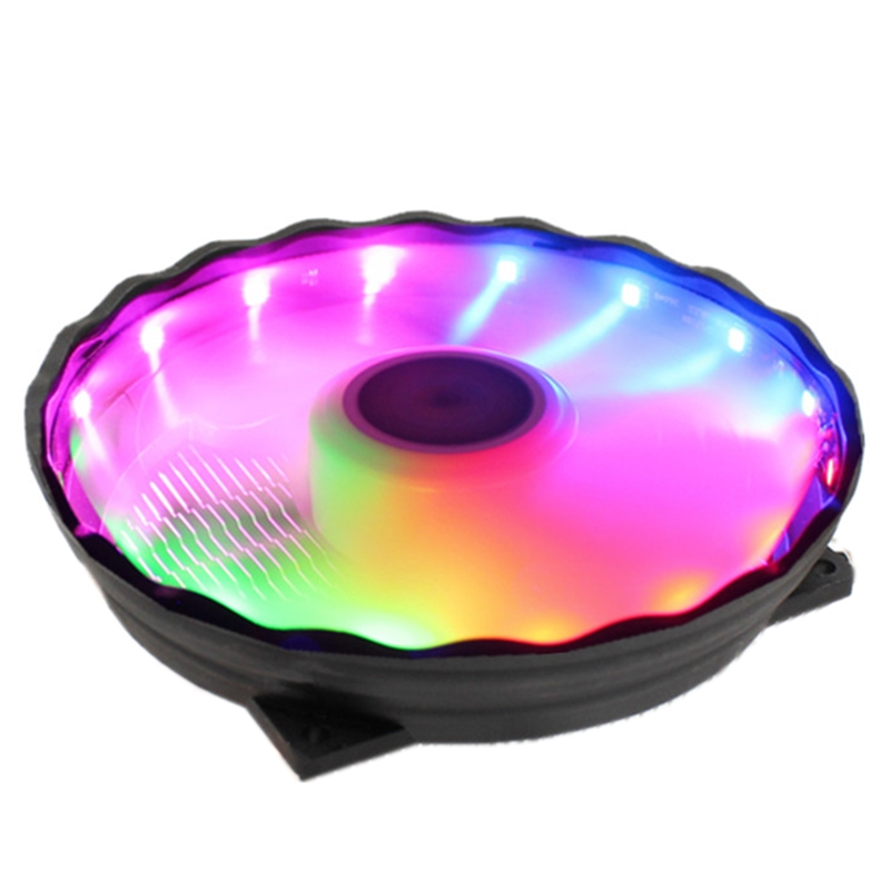 ONLY One Cooling Fan For CPU Cooler 12CM RGB LED