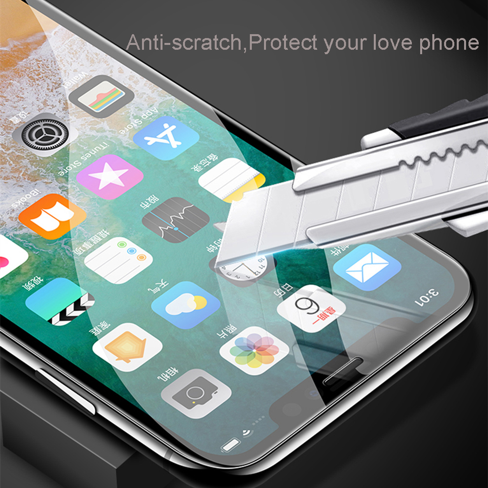 Protective tempered glass for iphone 7 8 plus X XR XS max 11 12 pro Max glass iphone 7 8 x screen protector glass on iphone 6s 7 3