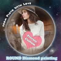 Photo diamant personnalisé peinture bricolage 5D plein rond forets soie douce toile avec colle coulée point de croix décor à la maison