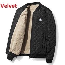 2020 New Autumn Winter Cotton Coat Men'S Jacket Men'S Cotton Jacket Jacket Jacket Fat Male Army Velvet Clothes