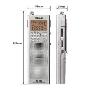 Image 3 - Lusya Tecsun PL 365 портативный однодиапазонный приемник полнодиапазонная цифровая Демодуляция DSP SSB радио I3 002