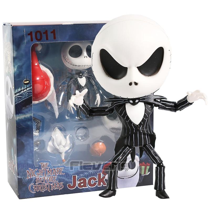 Nendoroid 1011 Jack Skellington The Nightmare Before Christmas Figure Model toys