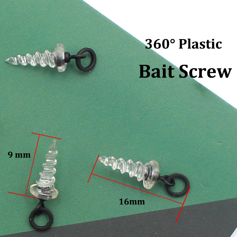 Carp Fishing Metal Bait Screw with 3.1mm Ring Chod Ronnie Pop Up Terminal Tackle