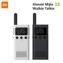 Xiaomi mijia 1s inteligente walkie talkie com rádio fm alto-falante telefone inteligente app localização compartilhar bluetooth interfone usb recarregável