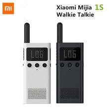 Xiaomi Mijia 1S Smart Walkie Talkie With FM Radio Speaker Smart Phone APP Location Share Bluetooth Interphone USB Rechargeable