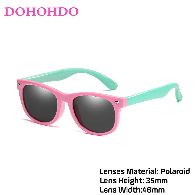 WarBLade צבעוני גמיש ילדים משקפי שמש מקוטבת Eyewears ילדי גבוהה באיכות HD עדשת תינוק בטיחות ציפוי מראה גוונים