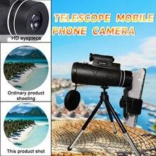 Telescópico Portátil De Alta Potencia Hd , Binocular Profesional, Visión Nocturna Militar, Monocular, Zoom Óptico, Spyglass # G3