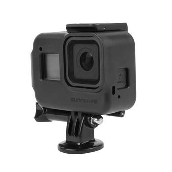 Obudowa odporna na wstrząsy obudowa ochronna do kamery GoPro Hero8 Hero 8 akcesoria do kamer w ruchu tanie i dobre opinie LINGHUANG GO-Q9267 Przypadku Pakiet 1 Z tworzywa sztucznego for GoPro Hero 8