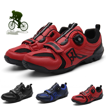 Road Cycling Shoes Men Outdoor Bike Sport Shoes Self-Locking Breathable Professional Racing Bicycle Shoes Size 38-46 Plus Size