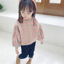 2019 Girls  long sleeve shirts girls blouse cotton baby shirt toddler casual girl fille blusa bebe