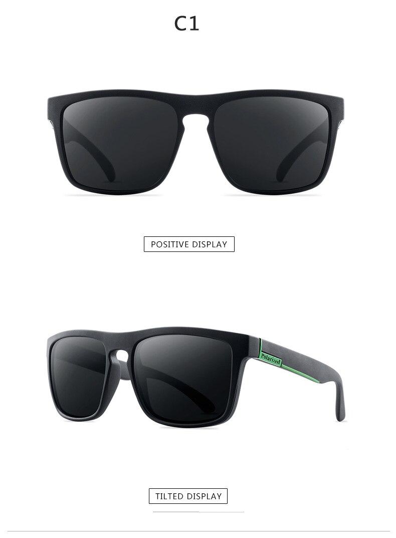 Новые поляризованные солнцезащитные очки мужские водительские оттенки мужские солнцезащитные очки для мужчин Ретро Дешевые Роскошные брендовые дизайнерские очки De sol UV400 - Цвет линз: 1