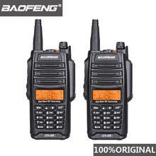 2 шт 100% Оригинал baofeng ip67 uv 9r walkie talkie Водонепроницаемый