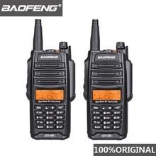 2 pièces dorigine Baofeng UV 9R talkie walkie 10 km IP67 étanche double bande UV9R jambon Radio Comunicador UV 9R CB Radio émetteur récepteur