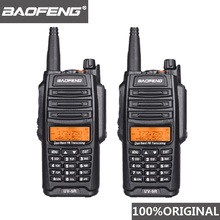 2Pcs Original Baofeng UV 9R Walkie Talkie 10 km IP67 Waterproof Dual Band UV9R Ham Radio Comunicador UV 9R CB Radio Transceiver