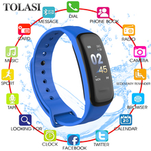 New Smart Bracelet Smart watch Blood Pressure Measurement Heart Rate Monitor Cardiaco Fitness Tracker Smart Wristband Smartwatch c9 smart wristband watches blood pressure activity tracker heart rate monitor relogio cardiaco smart bracelet waterproof