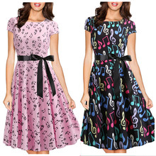 ALY-8022#Evening dress short Floral Print blac party prom